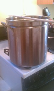 9 Gallons on the stovetop